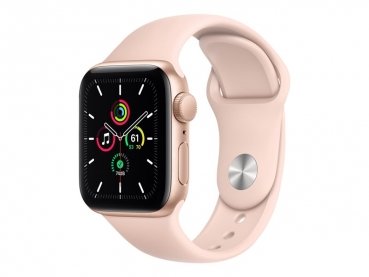 Apple Watch SE 40mm Gold, Sportband Pink Sand