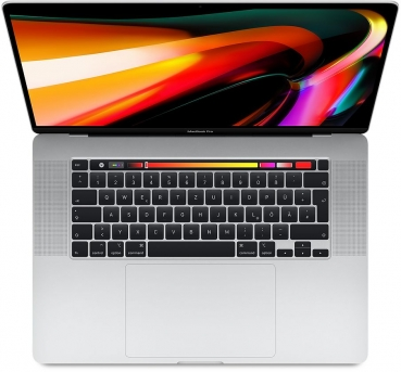 "MacBook Pro 16"" 8-Core 2,3GHz 16GB 1TB Silber"