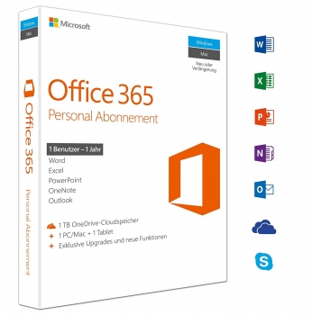 Microsoft Office Mac 365 Personal Abonnement